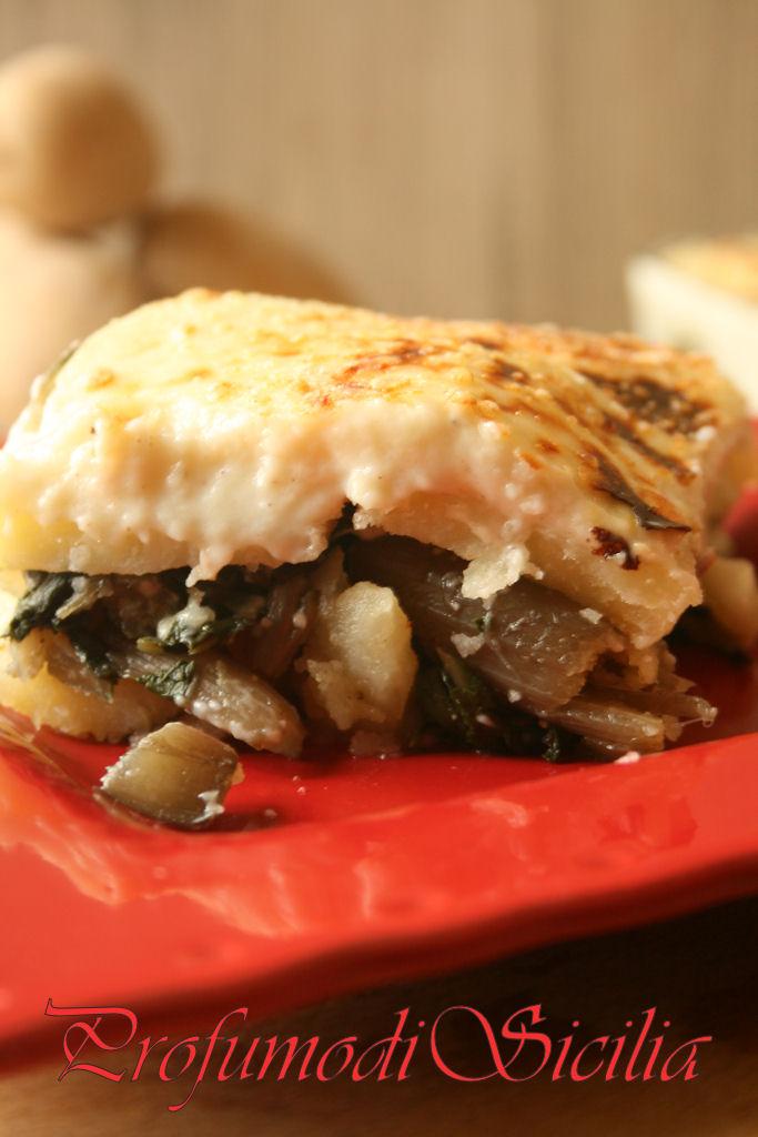 Terrina di Coste e Patate con Salsa Besciamella