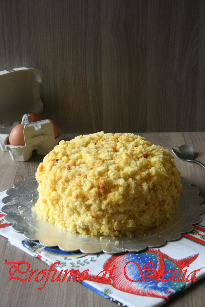 Torta Mimosa al Moscato