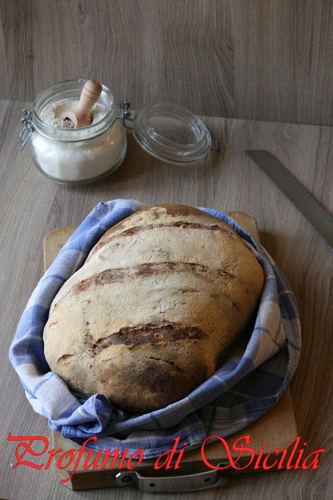 Pagnotta a lunga lievitazione con Pasta Madre