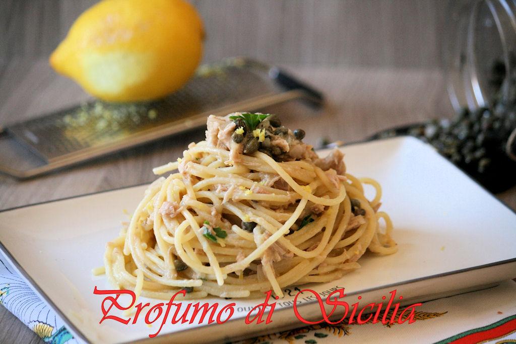 spaghetti tonno e limone (5)b