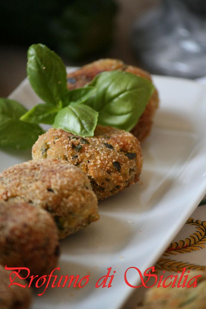 Polpette di Zucchine al Pesto