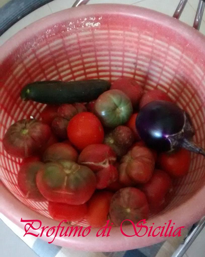 pomodori orto per la Passata di Pomodoro Fatta in Casa come una Volta