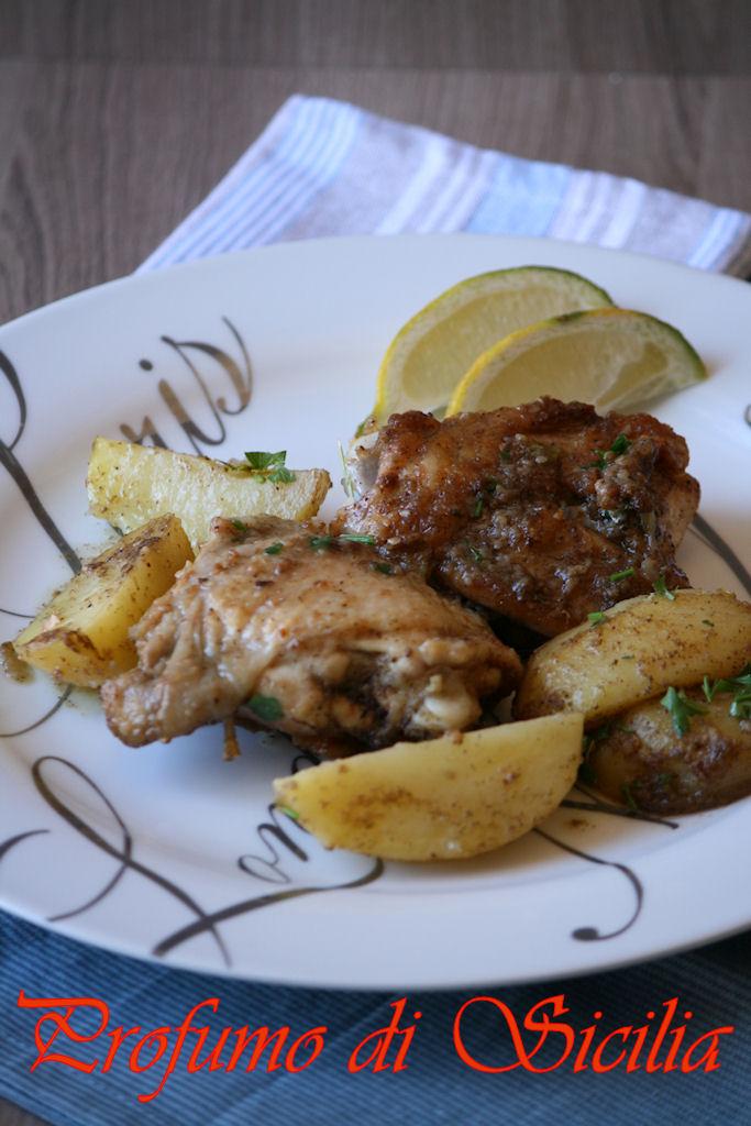 Pollo e Patate allo Za'atar in padella