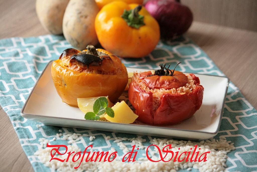 Ghemistà ovvero Verdure Ripiene Greche