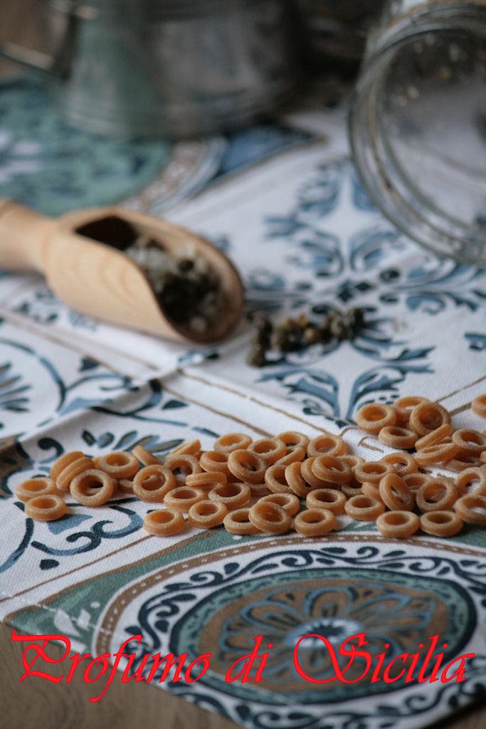Peperoni ripieni con Anelletti Palermitani Integrali