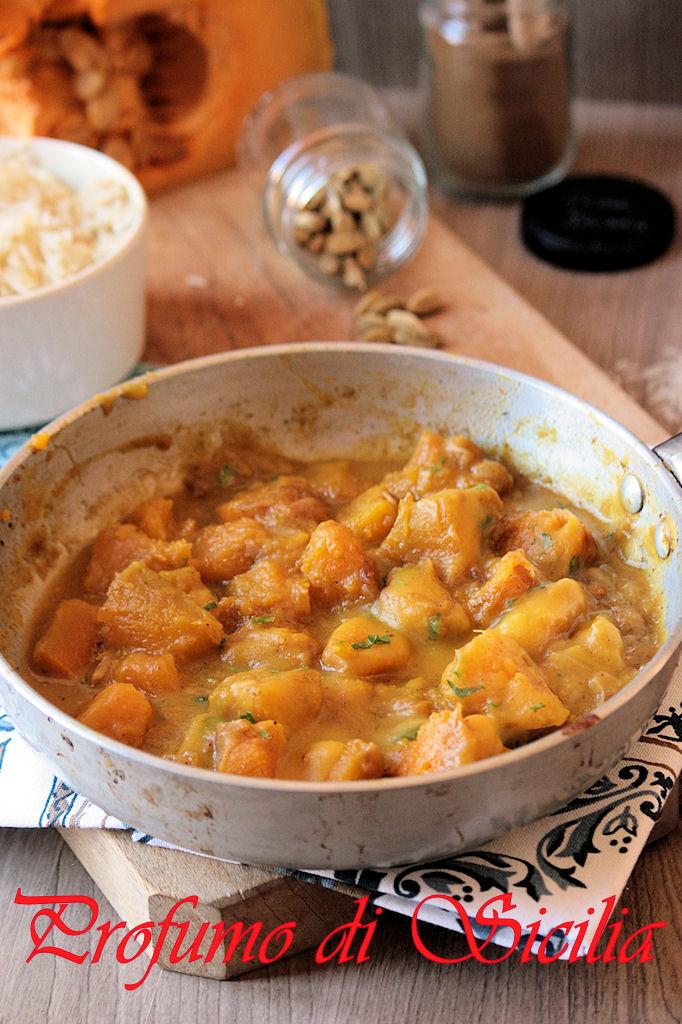 Curry di Zucca Velocissimo