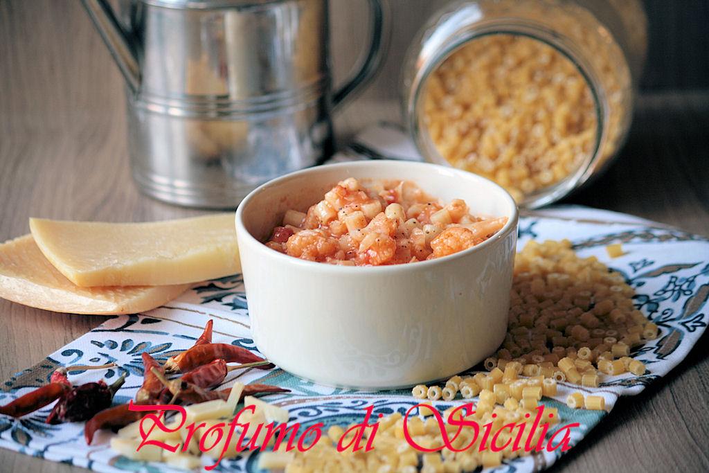 Pasta con Cavolfiore alla Napoletana