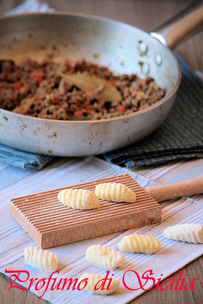 Gnocchi di Patate con Ragù Bianco alla Birra Rossa