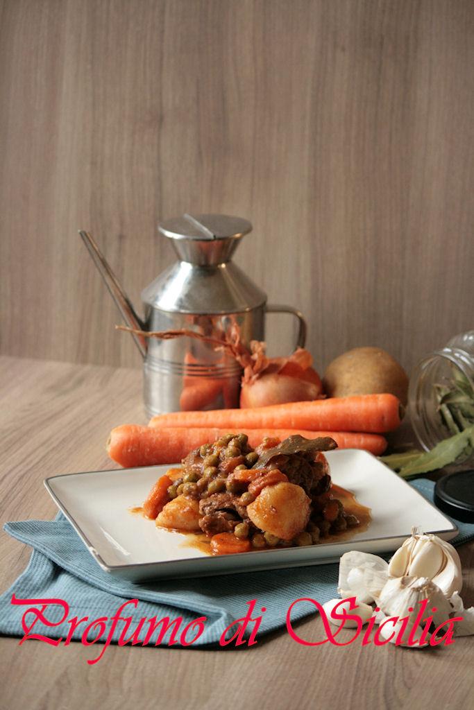 spezzatino di manzo con verdure