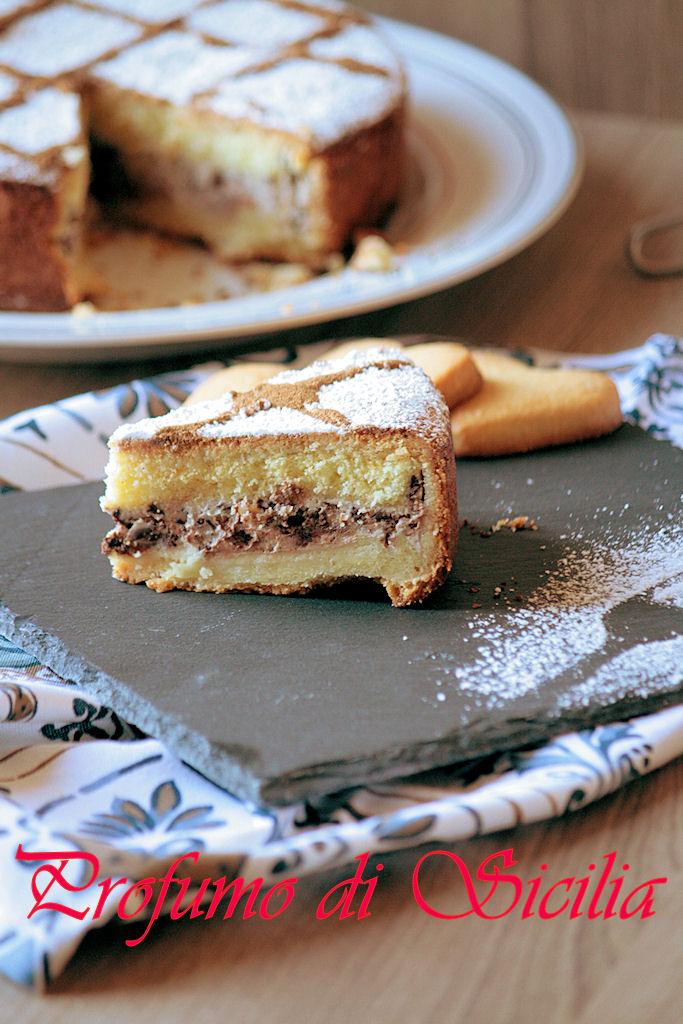 Cassata siciliana al forno