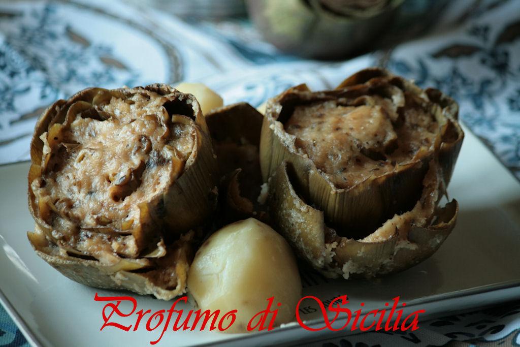 Carciofi Ripieni alla Siciliana un piatto tradizionale