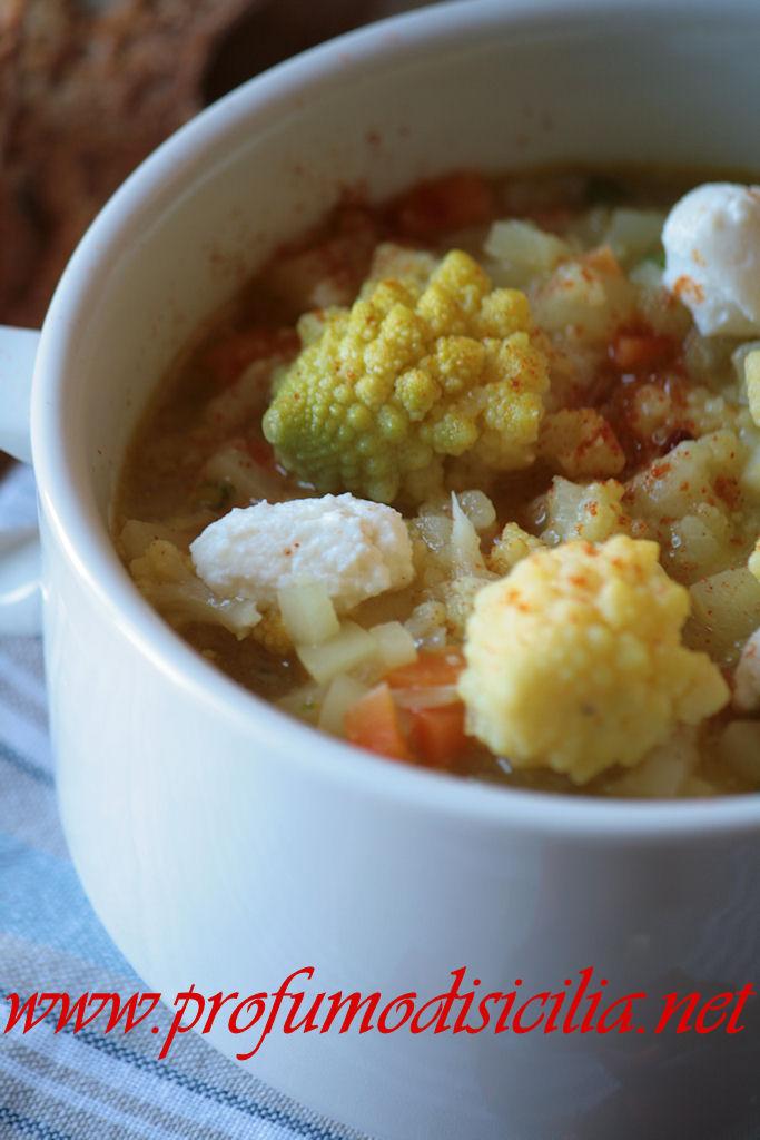 La Minestra di Broccolo Romanesco un piatto speciale da servire a tutta la famiglia
