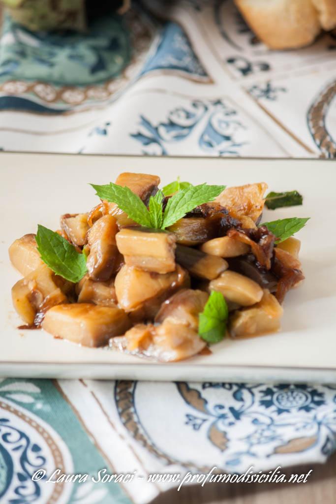 una ricetta tipica siciliana