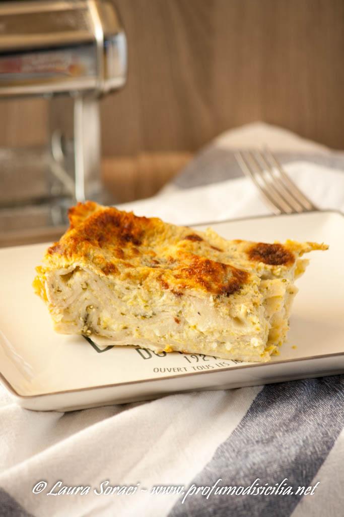 Lasagne Integrali con Crema di Zucchine e Besciamella