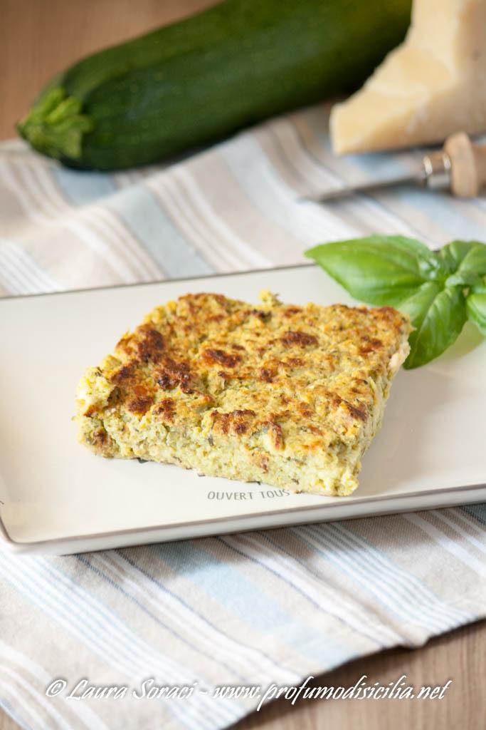 Sformato di Zucchine e Crescenza Sfizioso
