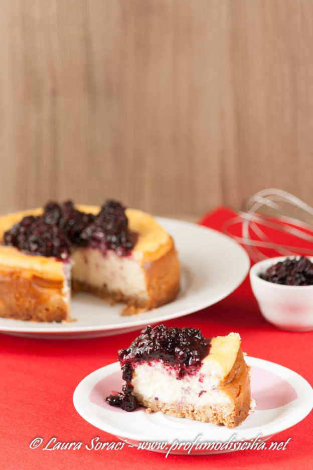 New York Cheesecake ai Frutti di Bosco