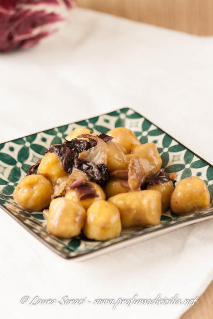 chicche di patate con crema di zola