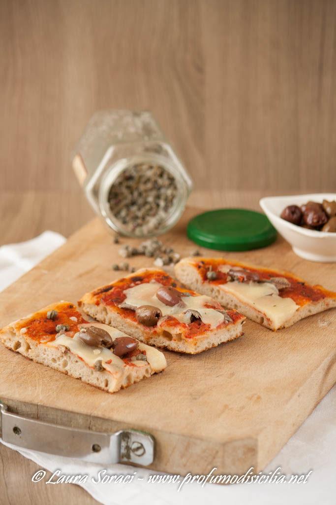 una pizza con i sapori della Sicilia