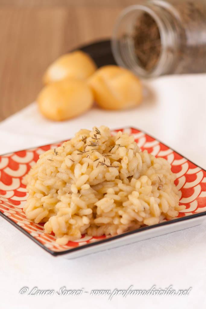 il risotto a marsala e scamorza affumicata