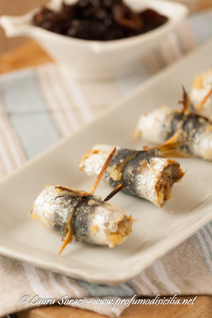deliziosi involtini di sarde per un finger food