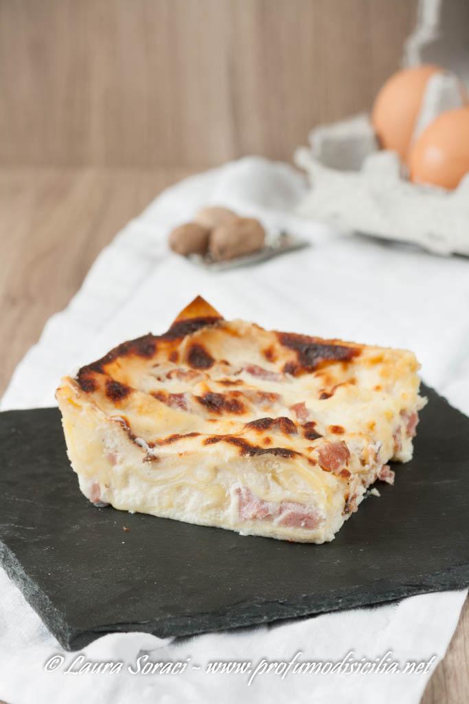 lasagne al prosciutto cotto