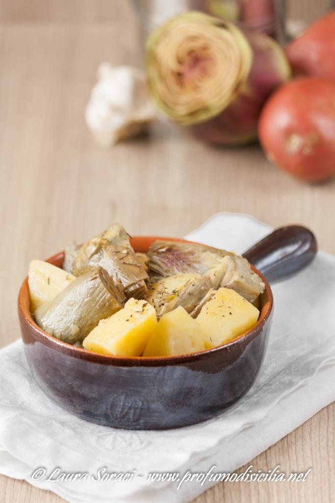 I ricordi d'infanzia in un piatto semplice e buonissimo di carciofi e patate