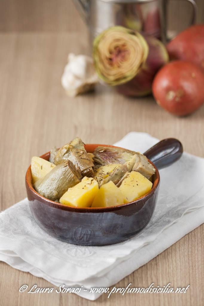 Il contorno speciale per la famiglia, un piatto goloso a base di carciofi e patate