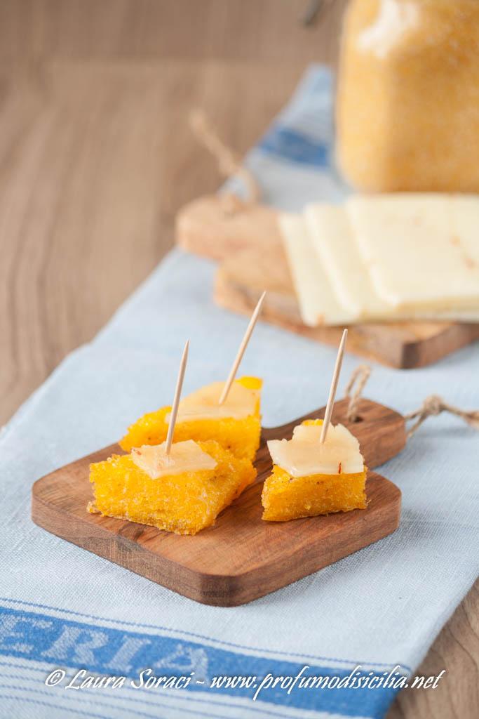 un delizioso modi di riusare la polenta avanza