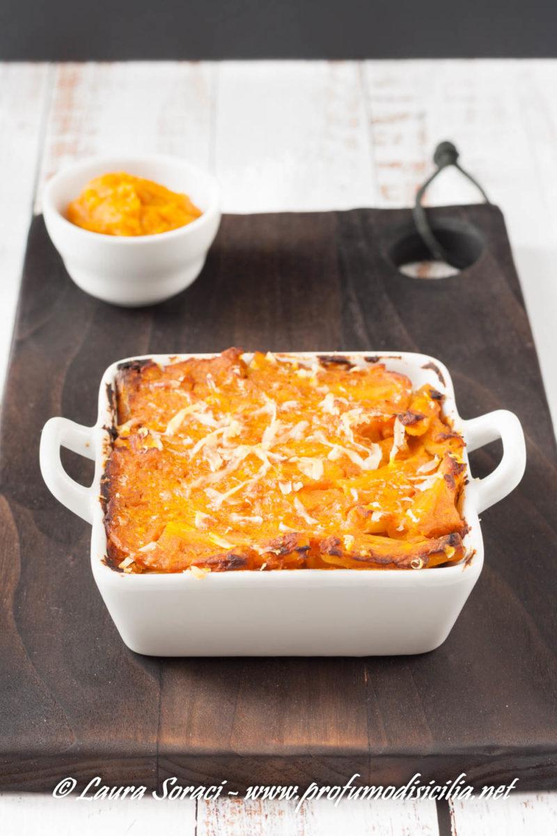 Pasta al Forno con Zucca e scamorza un piatto speciale