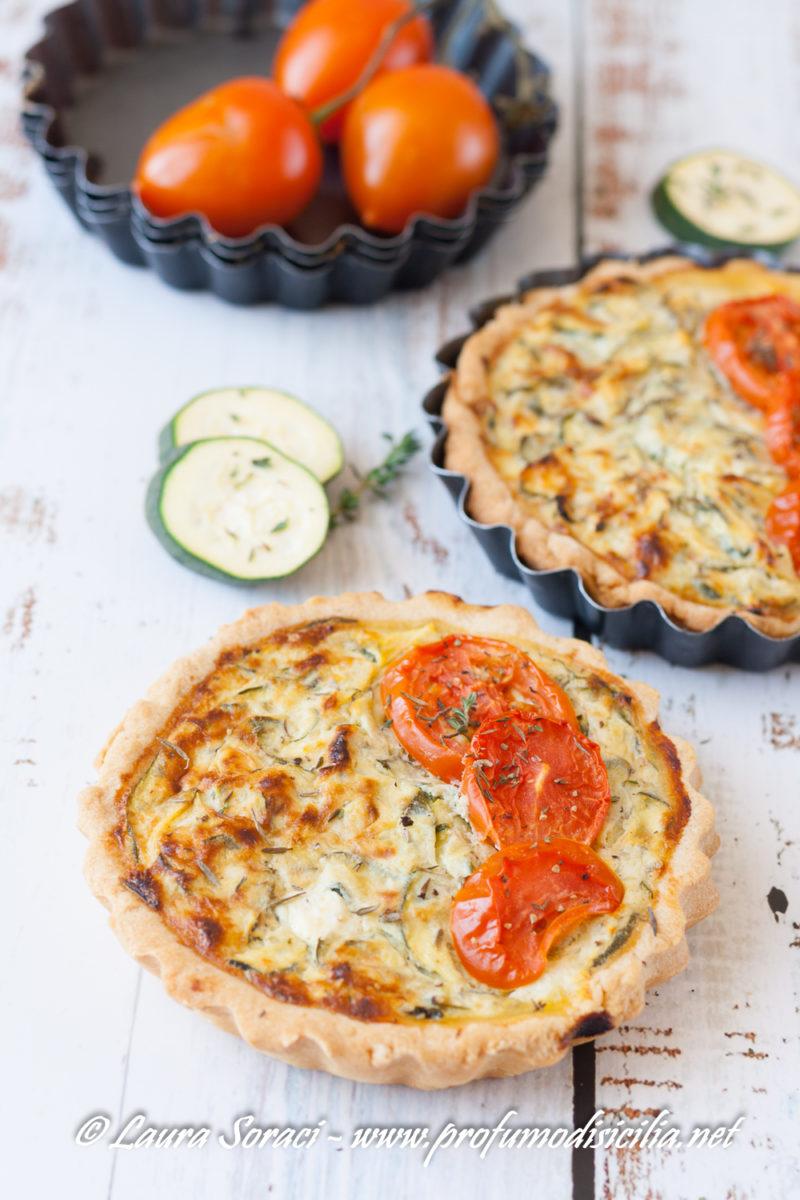 pronti per la scampagnata prepariamo la quiche zucchine e pomodori