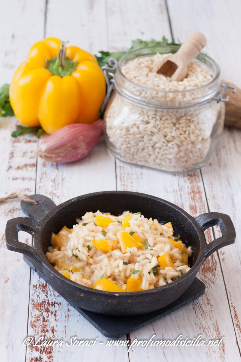 Un risotto speciale con un ingrediente unico i peperoni di Voghera