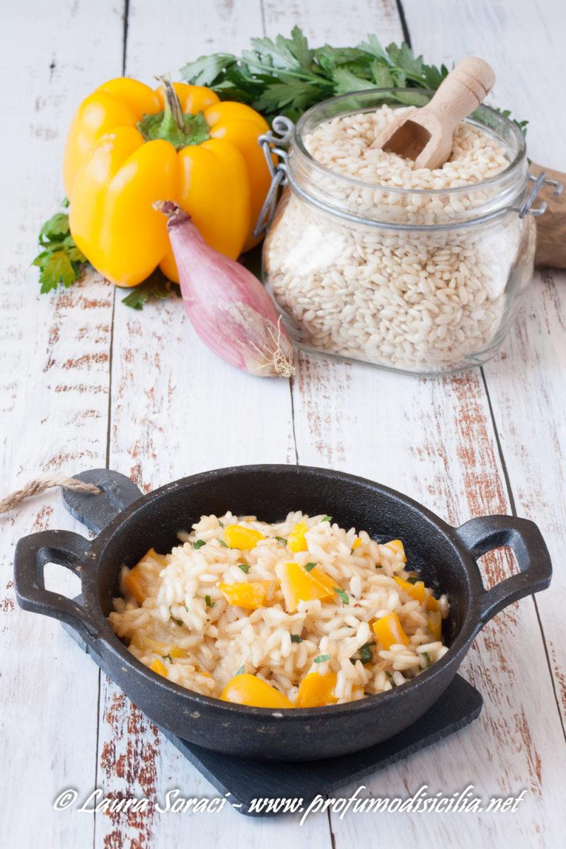 Un piatto a km 0 Il risotto con peperoni di voghera