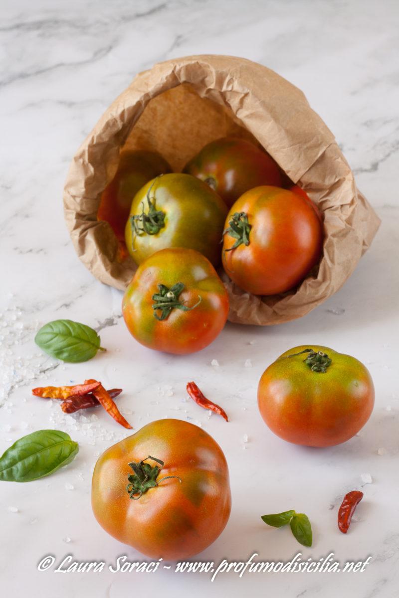 Adoro il pomodoro camone, la sua consistenza e il suo sapore